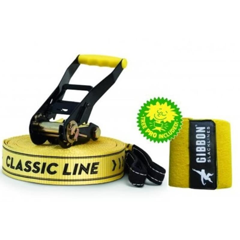Gibbon Slacklines Classic Line X13 Tree Pro Set   OneSize