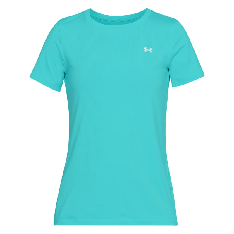 Under Armour Womens UA HeatGear Armour SS Blå
