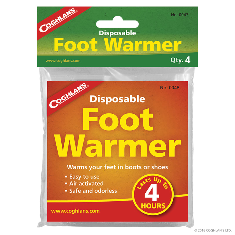 Disposable Foot Warmers - 4-pack