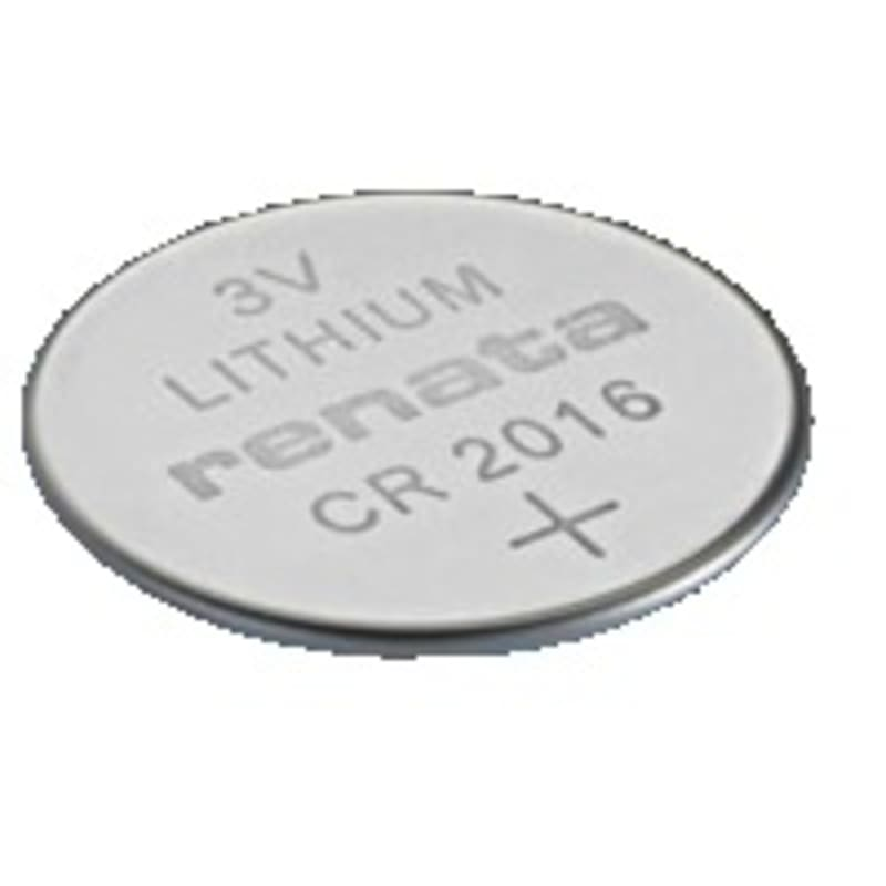 3V Lithium Coin Cells CR2016 MFR