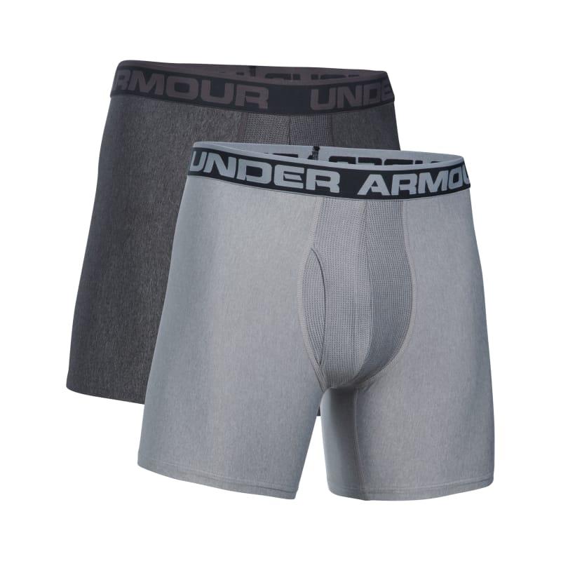 438e0dac now its dark Under Armour Men's Original Series 6'' Boxerjock 2 Pk male M