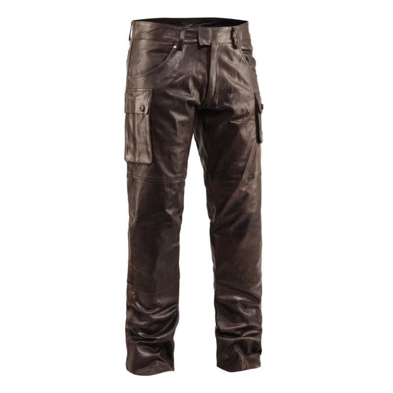 Men's Bull Leather Trousers