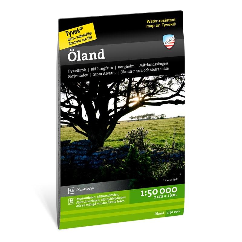 Calazo förlag Öland 1:50 000