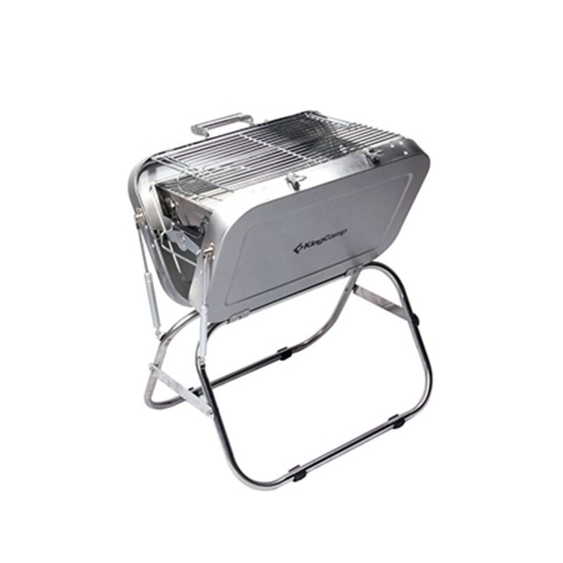 Kingcamp Portable Grill, Silver, OneSize