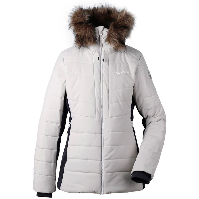 Didriksons Ona Women's Padded Jacket, Aluminum, 46