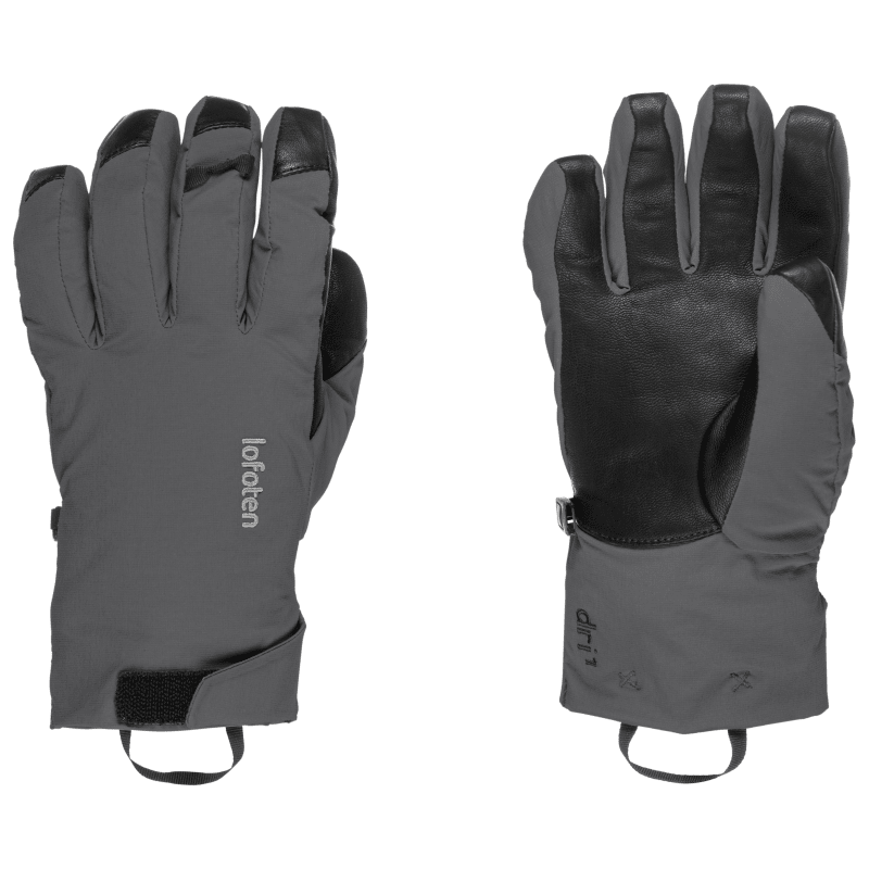 Norrøna Lofoten Dri1 Primaloft170 Short Gloves, Phantom, XL