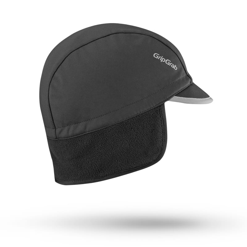 GripGrab Windproof Winter Cycling Cap Svart