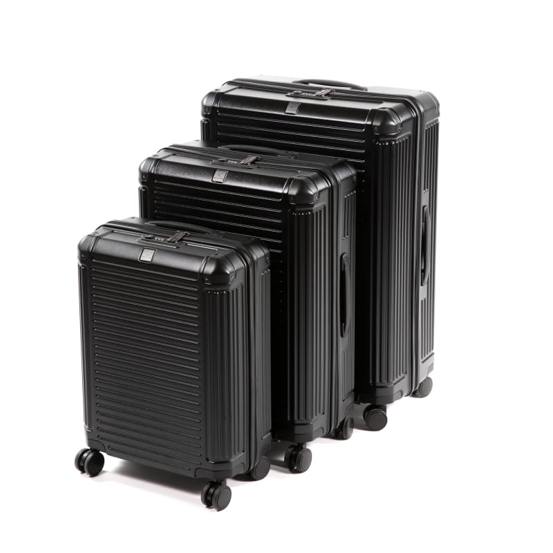 Light Strong Trolley Set Black