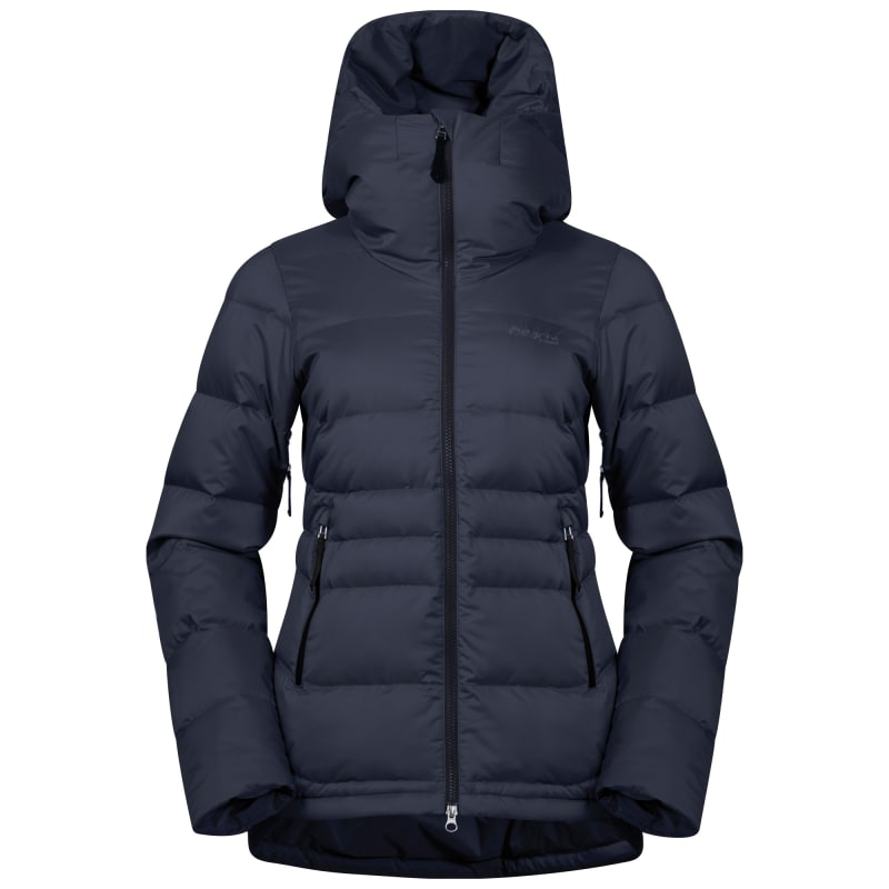 Bergans Stranda Down Hybrid Women's Jacket, Dk Navy/Dk Fogblue, M