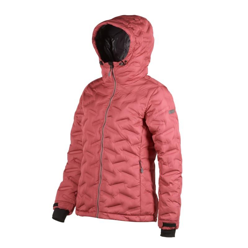 FÅK Red Mountain Welded Down Jacket Women, Cerise, 46