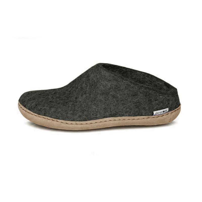 c3b7f730 Glerups Open Heel Leather Sole, Forest, 36