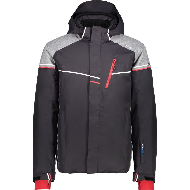 CMP Man Zip Hood Jacket (3W03177), Antracite, 46