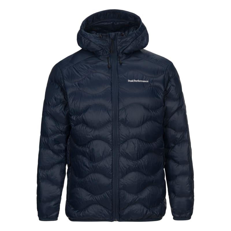Peak Performance Men's Helium Hooded Jacket, Blue Shadow, L