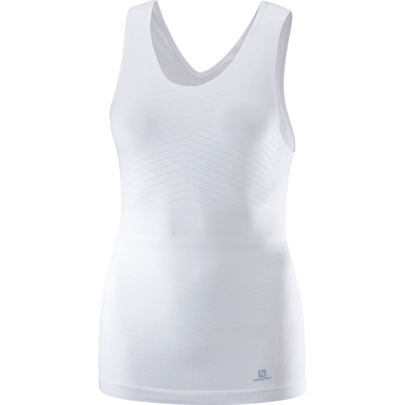 Salomon Elevate Move'on Tank Women's, White, XL