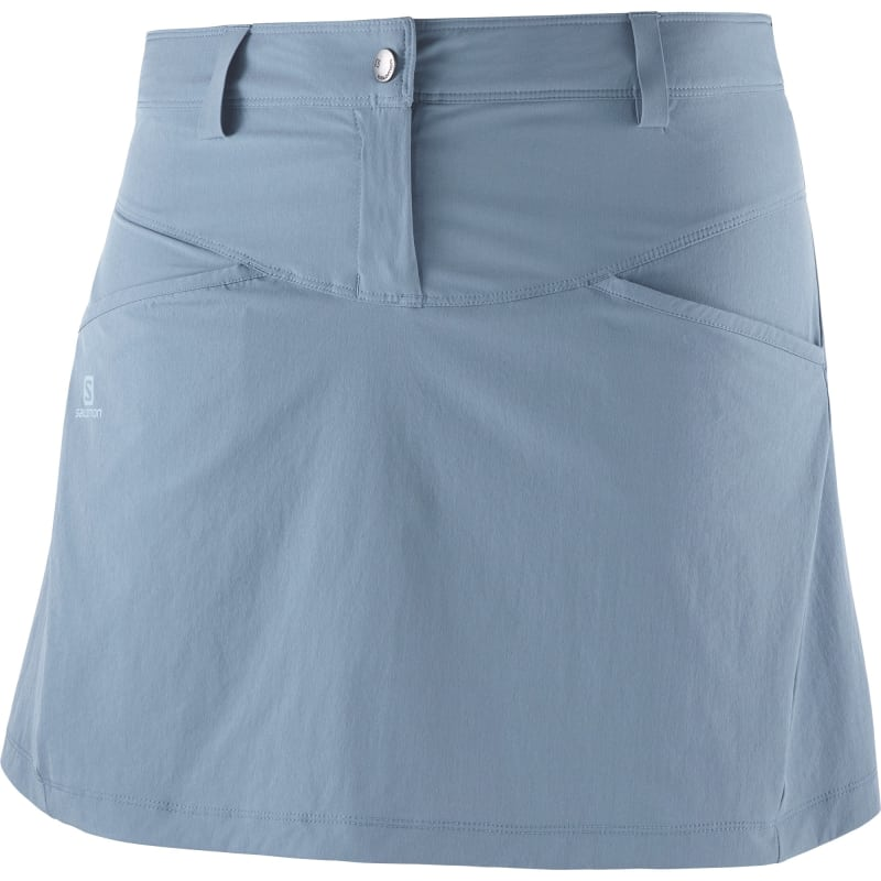Salomon Wayfarer Skirt Women's, Flint, 34