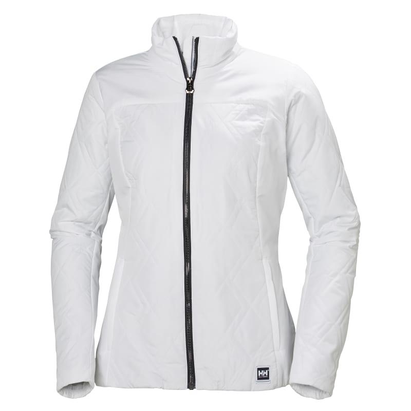 Helly Hansen Women's Crew Insulator Jacket, White, L