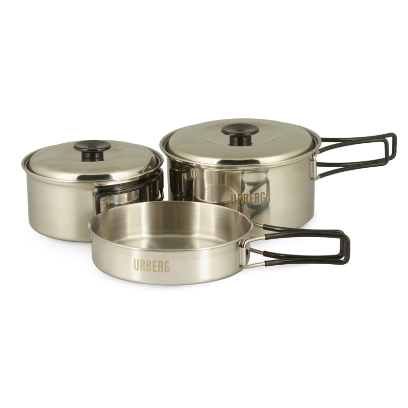 Stainless Steel 2-person Cook Set