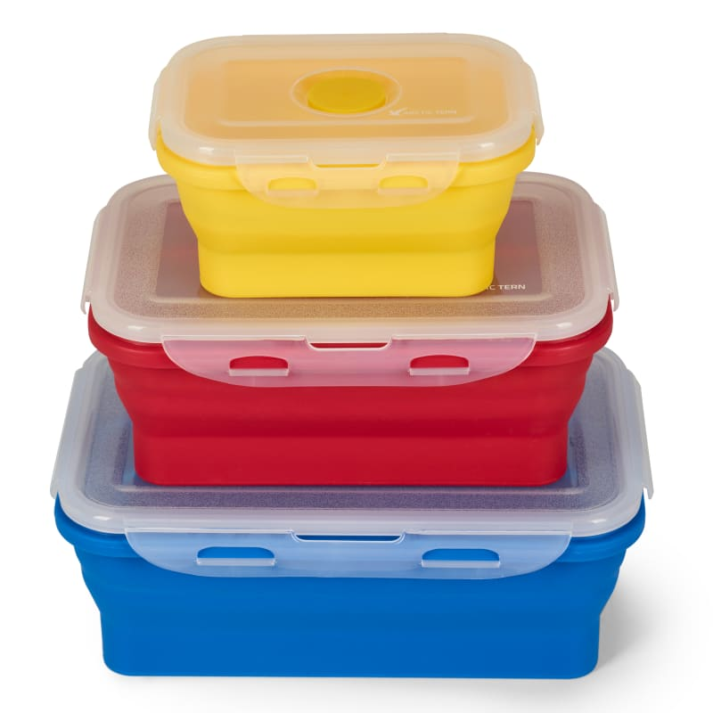 Bilde av 3-pack Silicone Lunch Box