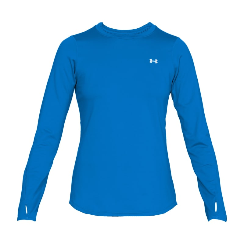 Under Armour Womens ColdGear Armour Fitted Crew Blå