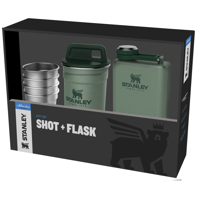 Adventure Shot + Flask Gift Set
