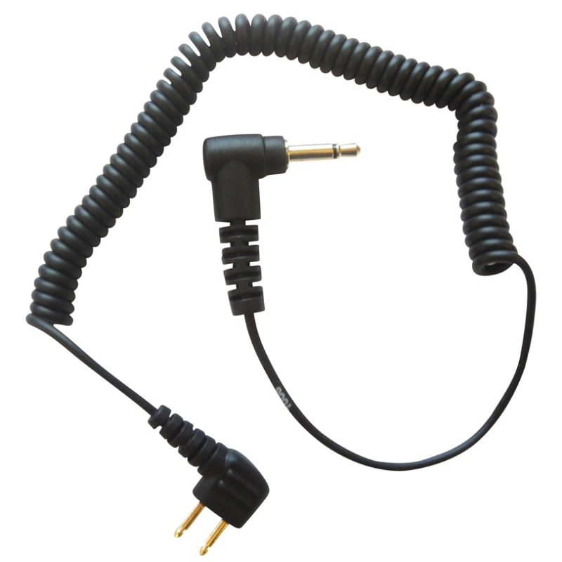 Adapter Cable Peltor 2 Pin 3,5 mm