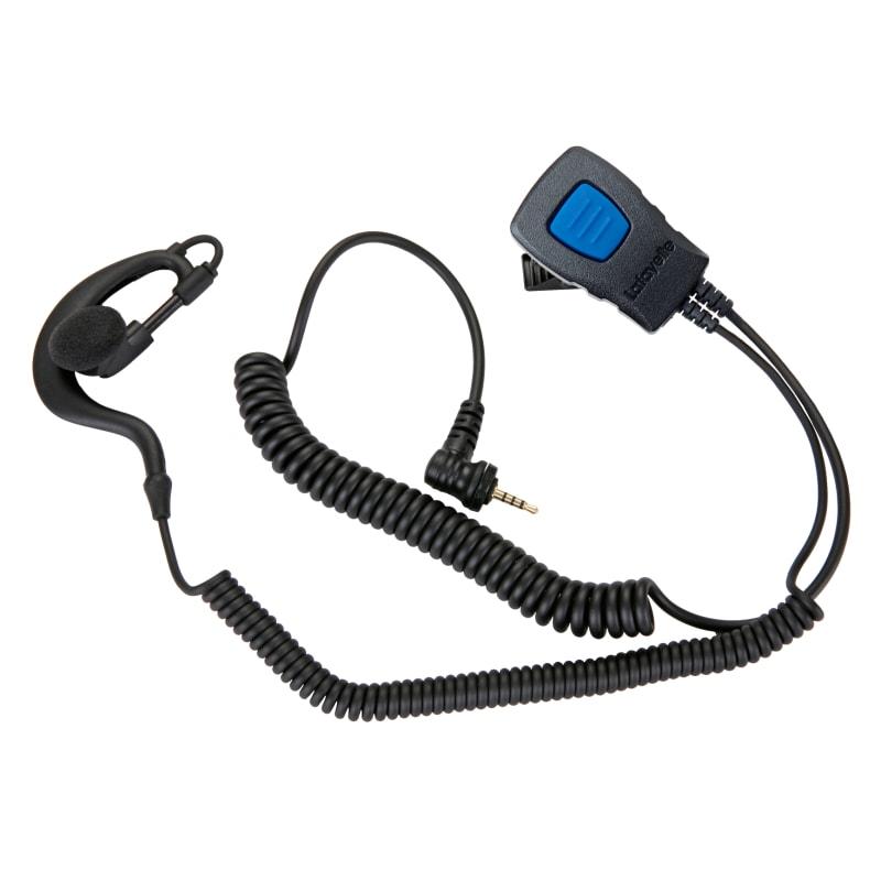 Speaker Microphone Earhook 2,5 mm 4-pol