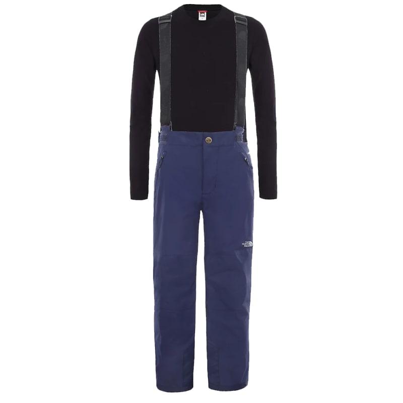 The North Face Reversible Perrito Jacket Girls Montague Blue Denim Print M   140-150 2019 Skidjackor