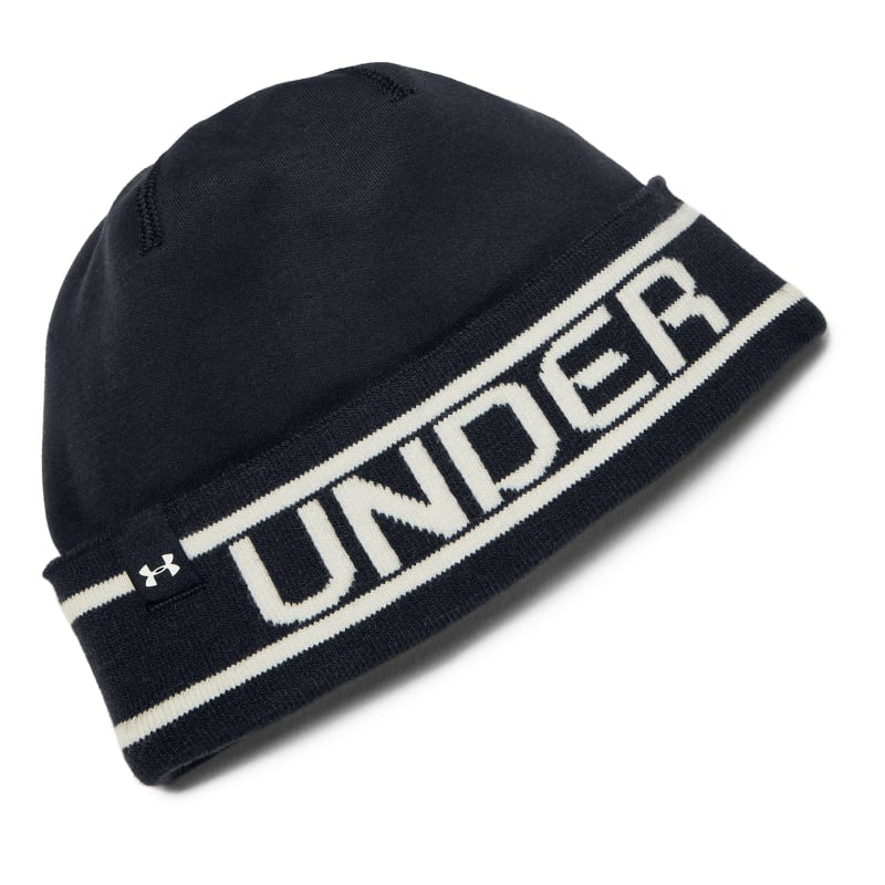 Under Armour Mens Branded Cuff Beanie Sort Sort OneSize