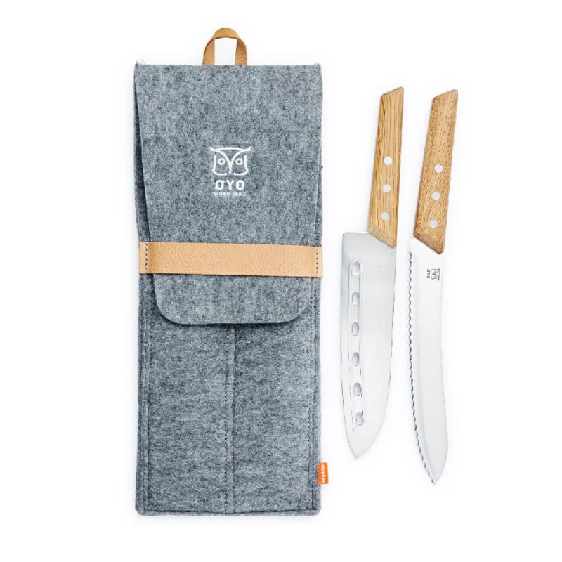 Duo Hiking Knife Set
