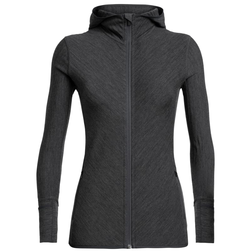 Women's Descender LS Zip Hood