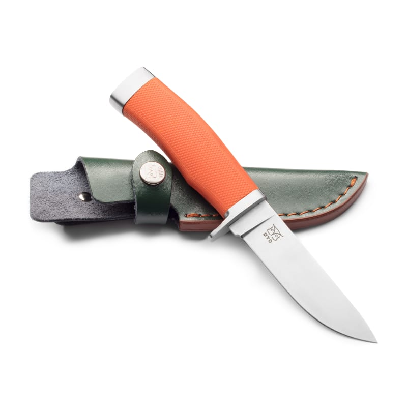 Finnskogen Knife with Leather Sheath