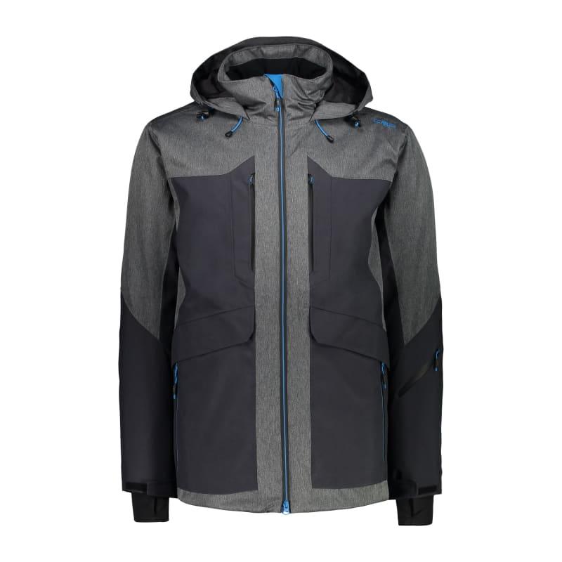 Men's Long Jacket Long Zip Hood