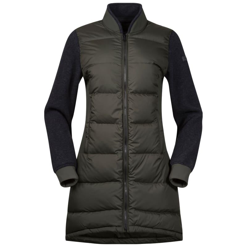 Oslo Down Hybrid Long Women's Jacket