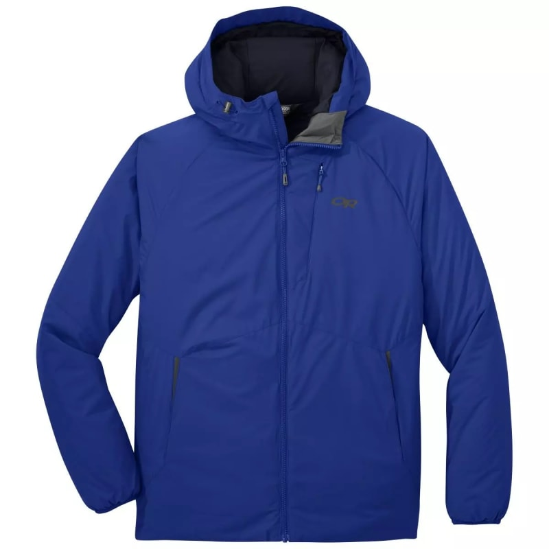 Outdoor Research Mens Refuge Hooded Jacket Blå