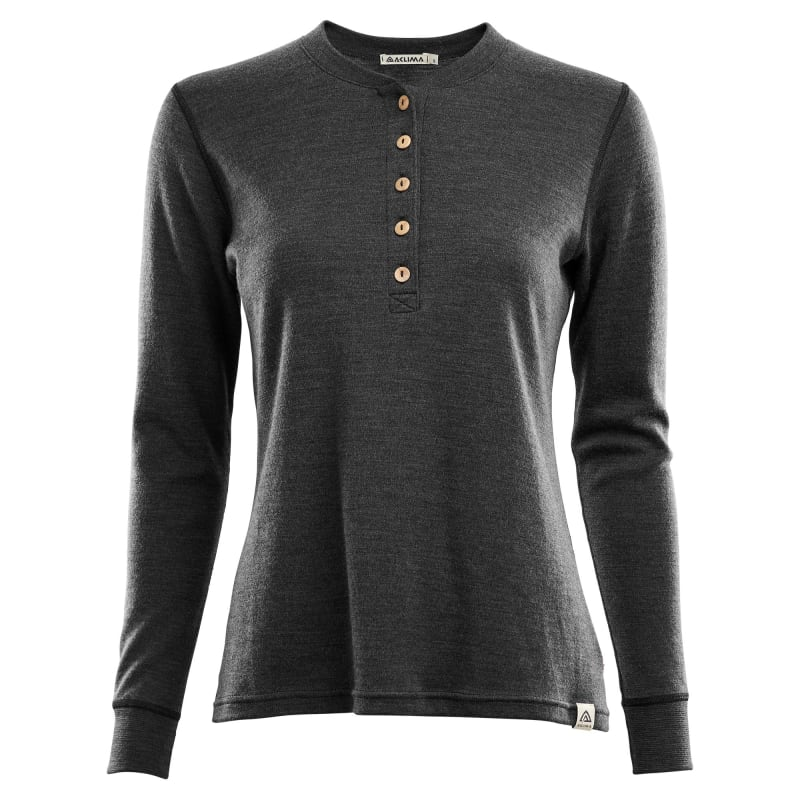 WarmWool Granddad Shirt Woman