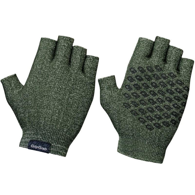 GripGrab Freedom Knitted Cycling Gloves Grön
