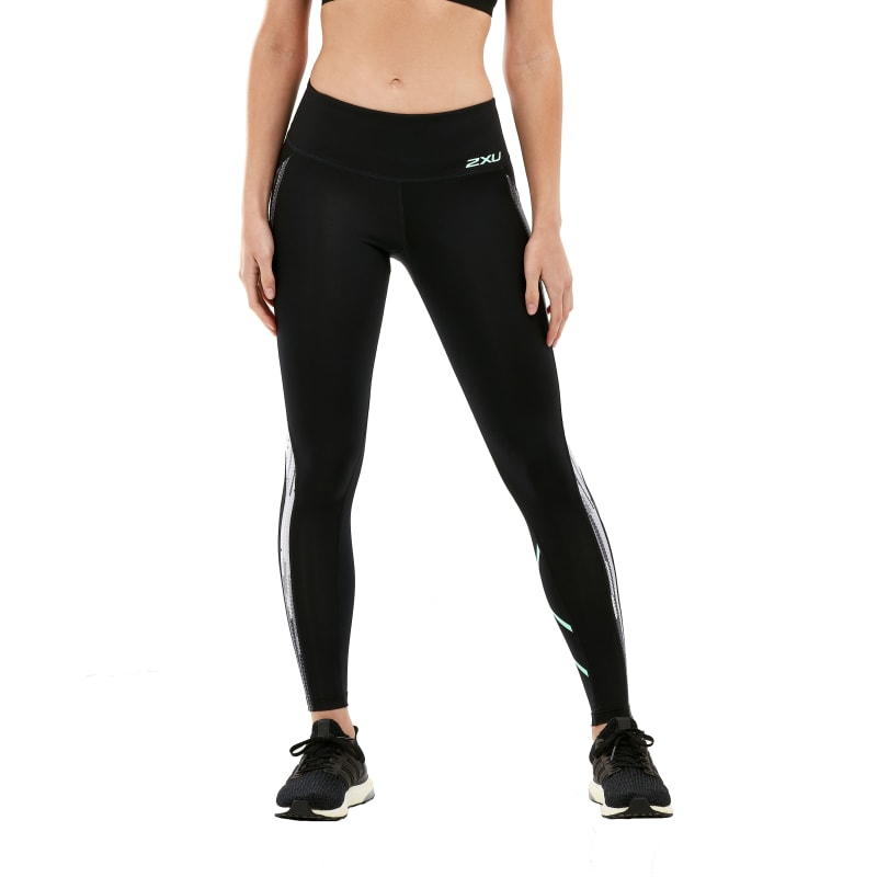 Women's Print Mid-Rise Compression Tights