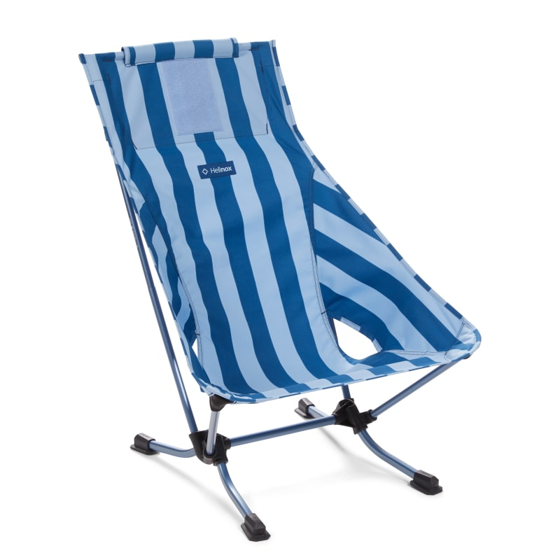 Beach Chair Blue Stripe