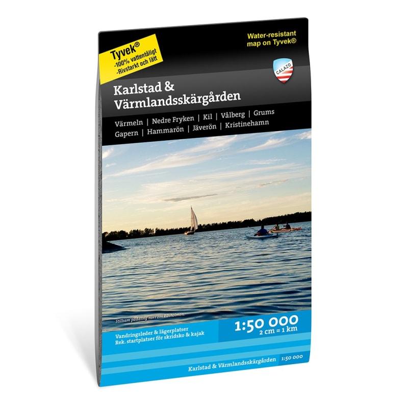 Karlstad & Värmlandsskärgården 1:50.000