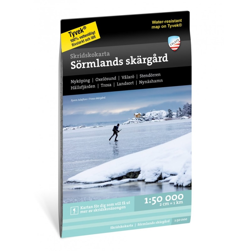 Skridskokarta Sörmlands skärgård 1:50.000