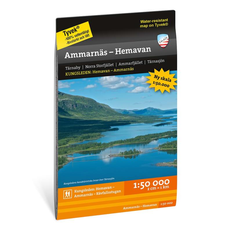 Ammarnäs - Hemavan 1:50.000