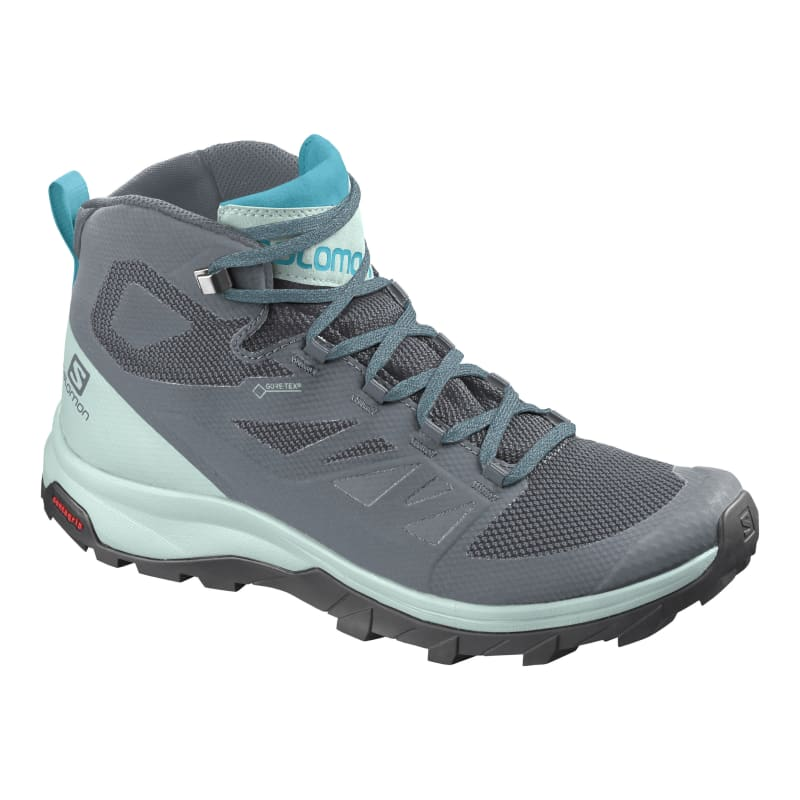 Salomon Womens Outline Mid Gore-Tex Grå