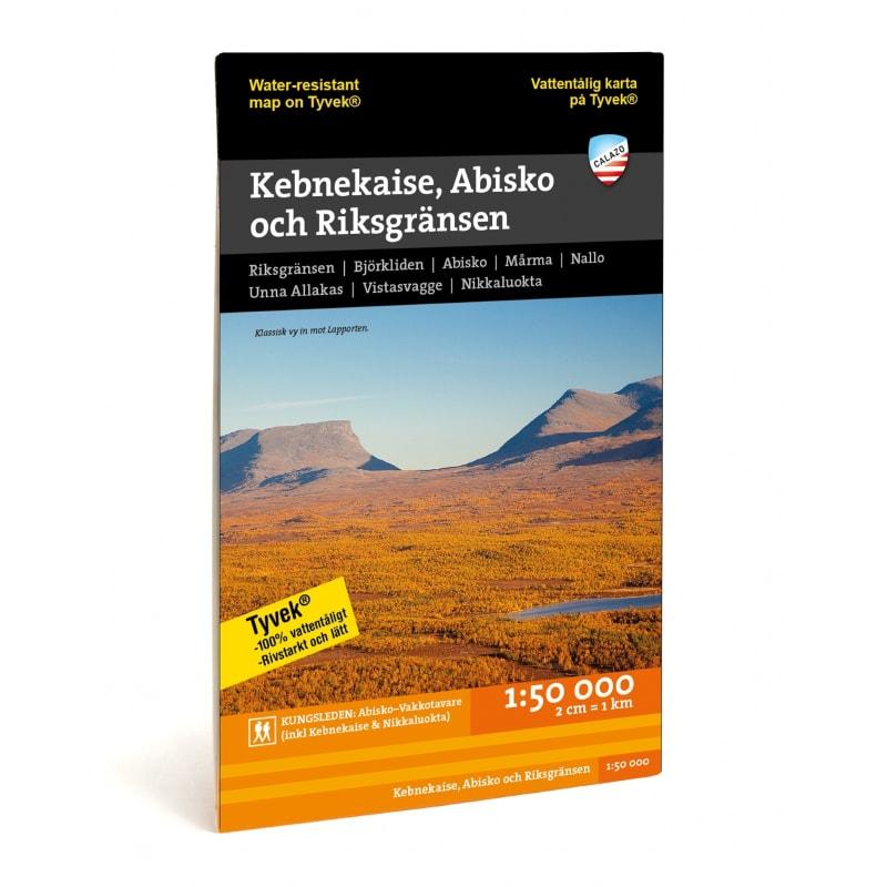 Kebnekaise, Abisko & Riksgränsen 1:50.000