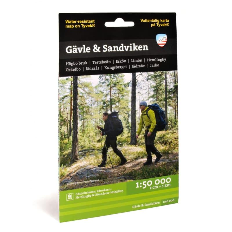 Gävle & Sandviken 1:50.000