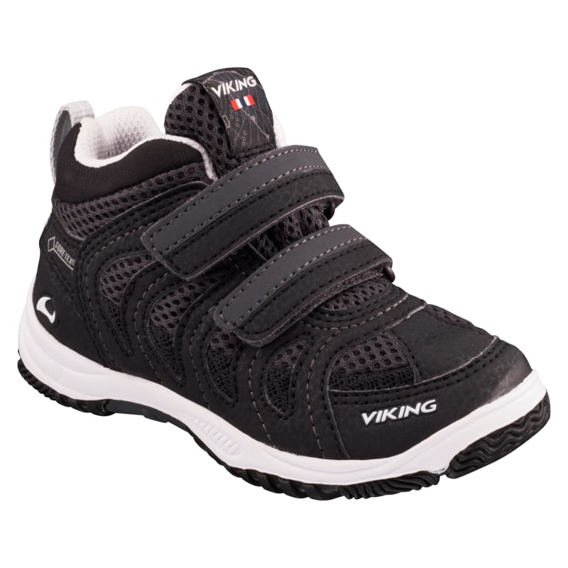 Viking Footwear Kids Cascade II Mid Gore-Tex Sort