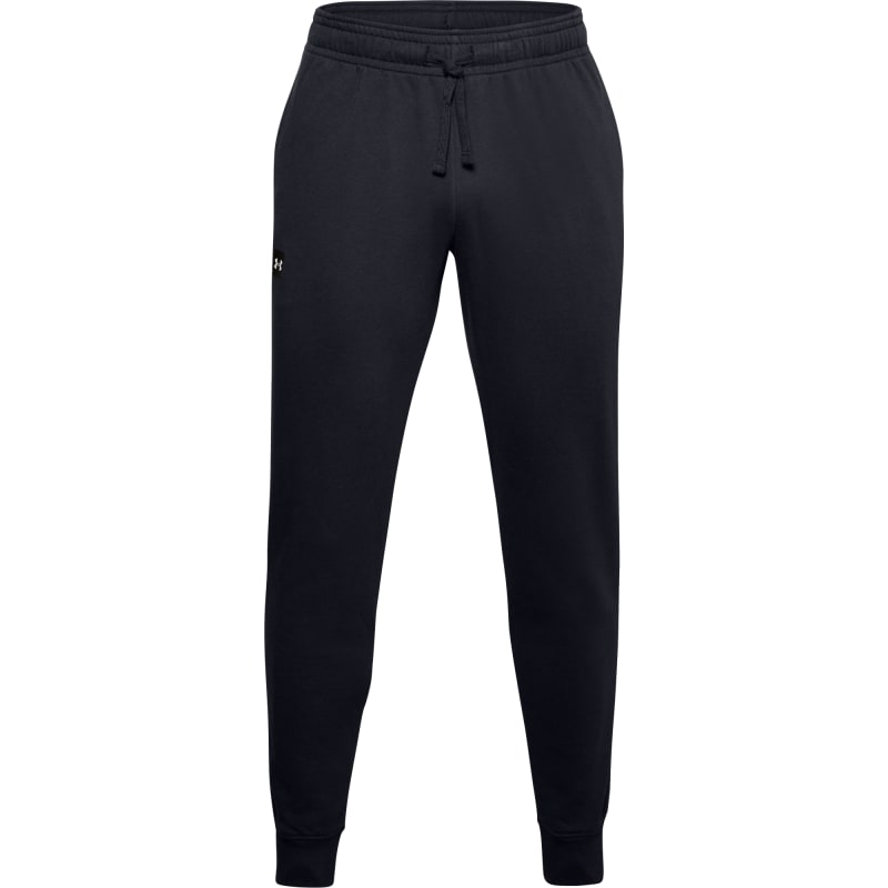 Under Armour Mens Rival Fleece Joggers Svart