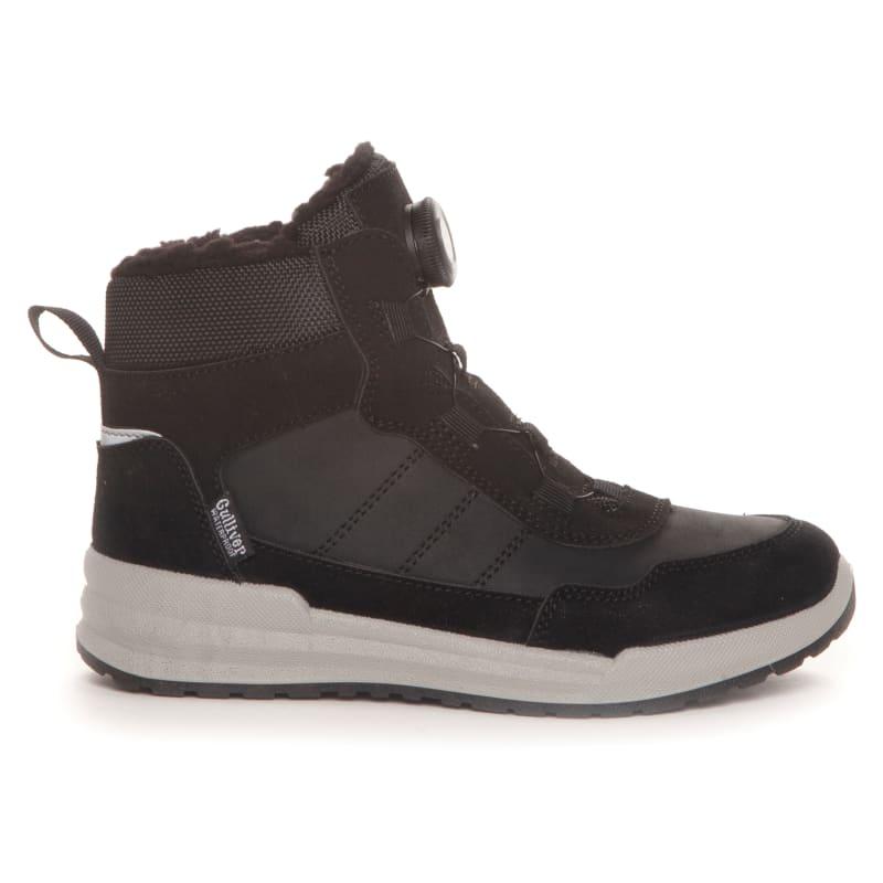 Kids Waterproof Boots In PU/Nubuck 2