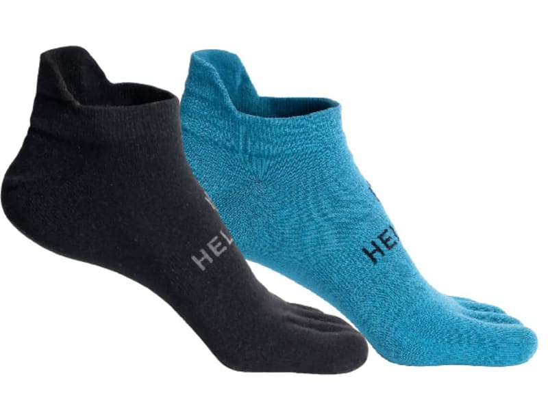 2-pack Hellner Running Toe Socks Low