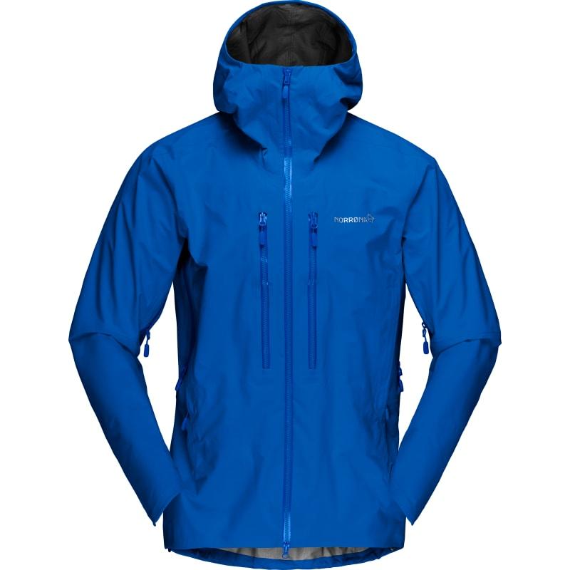 Norrøna Mens Trollveggen Gore-Tex Pro Jacket Blå