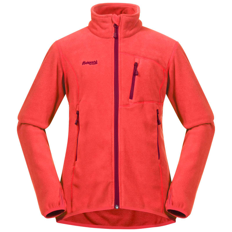 Bergans Runde Youth Girl Jacket Rød